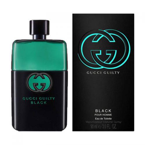 عطر ادکلن گوچی گیلتی بلک مردانه Gucci Guilty Black Pour Homme
