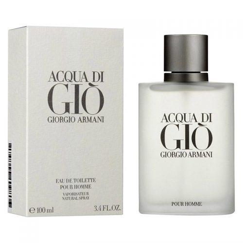 ادکلن جورجیو آرمانی آکوا دی جیو مردانه-جیو سفیدGiorgio Armani Acqua di Gio 100Mil