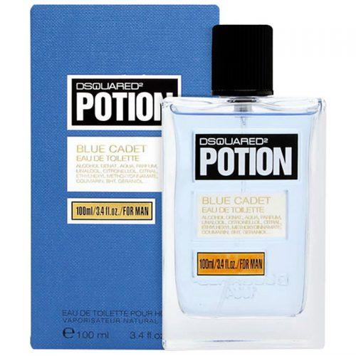عطر ادکلن دی اسکورد پوشن بلو کادت 100میل DSQUARED² Potion Blue Cadet