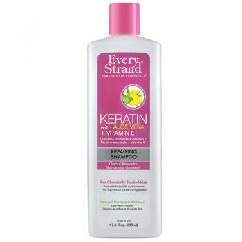 شامپو کراتینه ترمیم کننده آلوئه ورا اوری استرند Shampoo Keratin with Aloe Vera + Vitamin E Repairing