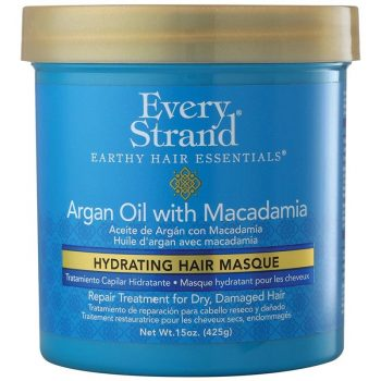 ماسک آبرسان مو روغن آرگان و ماکادمیا اوری استرند Every Strand Argan Oil Hydrating Hair Masque