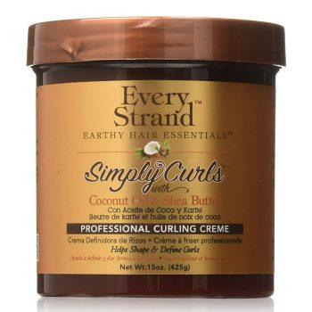 کرم مو اوری استرند شیا و نارگیل موهای فر Every Strand Simply Curls with Shea & Coconut Oil