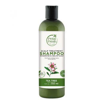 شامپو بدون سولفات ارگانیک پتال فرش ترمیم کننده پوست سر Petal Fresh Scalp Treatment Shampoo Tea Tree