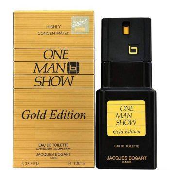 عطر ادکلن بوگارت وان من شو گلد ادیشن Jacques Bogart One Man Show Gold Edition