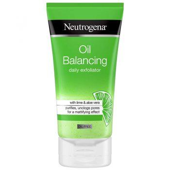 اسکراب روزانه پوست چرب نیتروژنا نوتروژنا Neutrogena Oil Balancing Daily Exfoliator