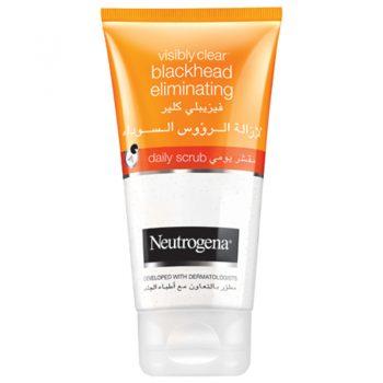 اسکراب ضدجوش سرسیاه نیتروژنا نوتروژنا Neutrogena Blackhead Eliminating Facial Scrub