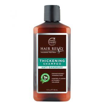 شامپو بدون سولفات ضد ریزش و ضد شوره پتال فرش Petal Fresh HAIR RESQ THICKENING Shampoo Anti Dandruff