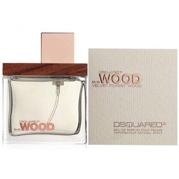 عطر ادکلن دی اسکورد شی وود ولوت فورست وود DSQUARED² She Wood Velvet Forest Wood