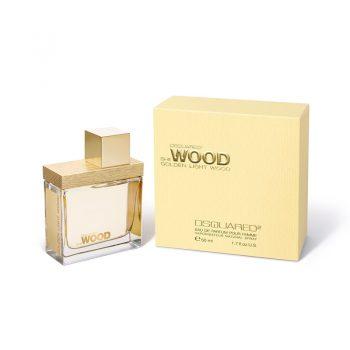 عطر ادکلن دی اسکورد شی وود گلدن لایت وود DSQUARED² She Wood Golden Light Wood