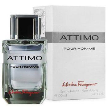 عطر ادکلن سالواتوره فراگامو اتیمو مردانه Salvatore Ferragamo Attimo Pour Homme