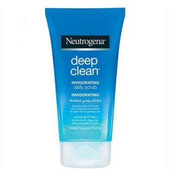 اسکراب روزانه تقویت کننده و تمیز کننده نیتروژنا Neutrogena Deep Clean Invigorating Face Scrub