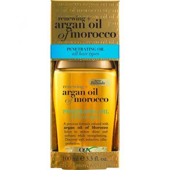 روغن آرگان او جی ایکس مراکشی انواع موها ogx argan oil of morocco PENETRATING OIL