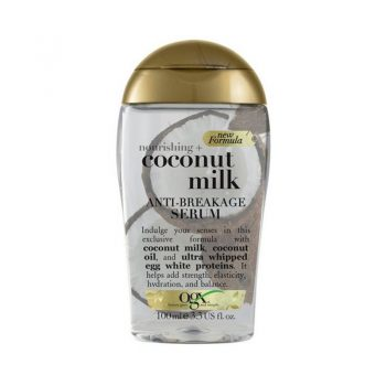 سرم موی او جی ایکس ضد شکستگی شیر نارگیل Ogx Nourishing Coconut Milk Anti_Breakage Serum