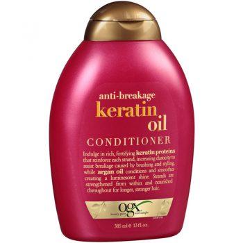 نرم کننده موی کراتین او جی ایکس Ogx Anti Breakage Keratin Oil Conditioner