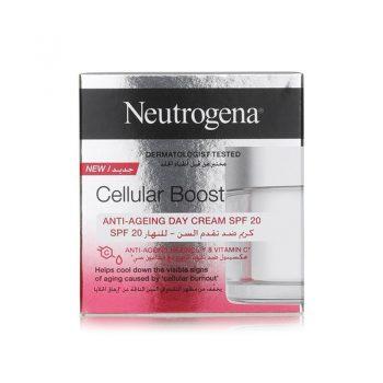 کرم روز ضد پیری نیتروژنا نوتروژنا Neutrogena Cellular Boost Anti-Aging Day Cream