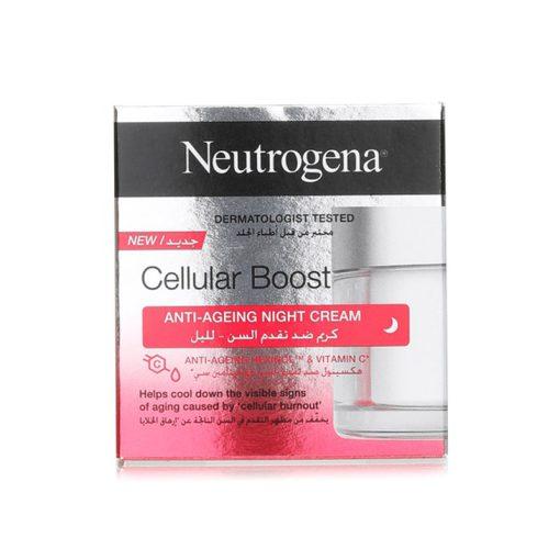 کرم شب ضد پیری و ضد چروک نیتروژنا نوتروژینا Neutrogena Cellular Boost Anti-aging Night Cream