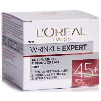 کرم ضدچروک روز لورال رتینول LOreal Wrinkle Expert 45+ Retino Peptides Cream