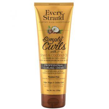 کرم فر کننده موی اوری استرند Every StrandSimply Curls with Shea & Coconut Oil Professional Curling Creme