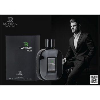 عطر ادکلن لاکونیک نویر لاگوست نویر مشکی Rovena laconic noir