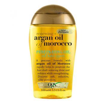 روغن آرگان مراکشی مناسب موهای خشک و ضخیم ogx argan oil of morocco EXTRA PENETRATING OIL