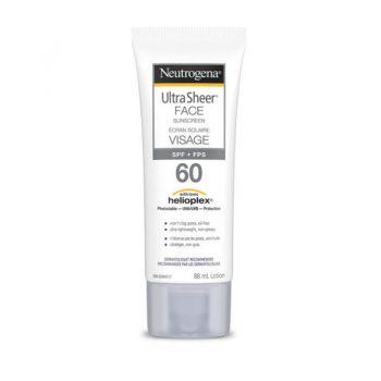 ضد آفتاب نیتروژنا نوتروژنا صورت Neutrogena Ultra Sheer Face Sunscreen 60 SPF