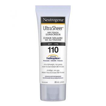 ضد آفتاب نیتروژنا نوتروژنا SPF 110 الترا شیر Neutrogena Sunscreen Lotion SPF 110 Ultra Sheer