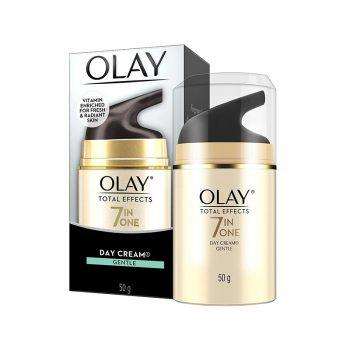 کرم اولای توتال افکت روز پوست نرمال آبرسان ضد پیری Olay Day Cream Total Effects 7 in 1, Day cream normal