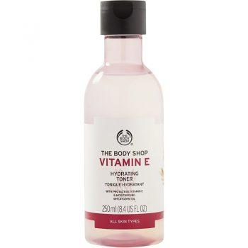 تونر ویتامین ای E بادی شاپ آبرسان The Body Shop Vitamin E Hydrating Toner