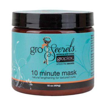 ماسک موهای فر داخل حمام گرو سکرت Gro Secrets 10 Minute Mask