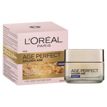 کرم شب گلدن ایج لورال-لوریل آلمانی LOreal Paris Age Perfect Golden Age Night Cream 50 ml